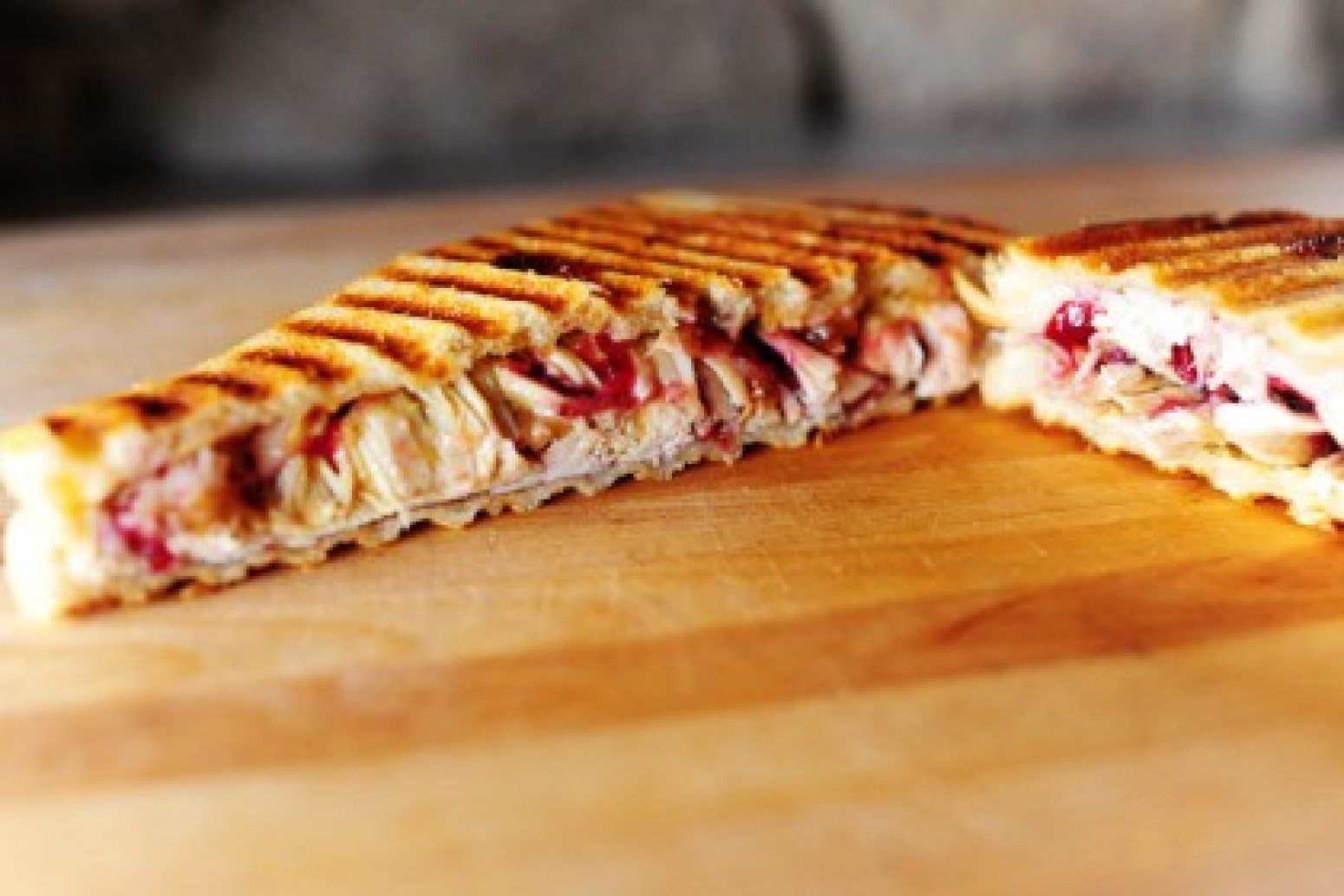 Leftover Turkey and Swiss Panini Recipe | Just A Pinch Recipes