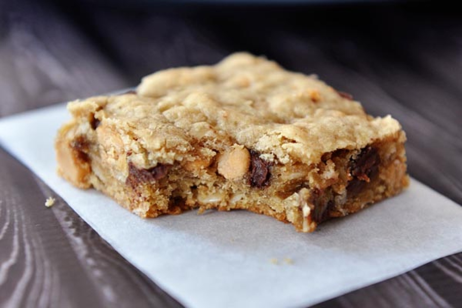 Oatmeal Peanut Butter Chocolate Chip Bars Recipe Just A