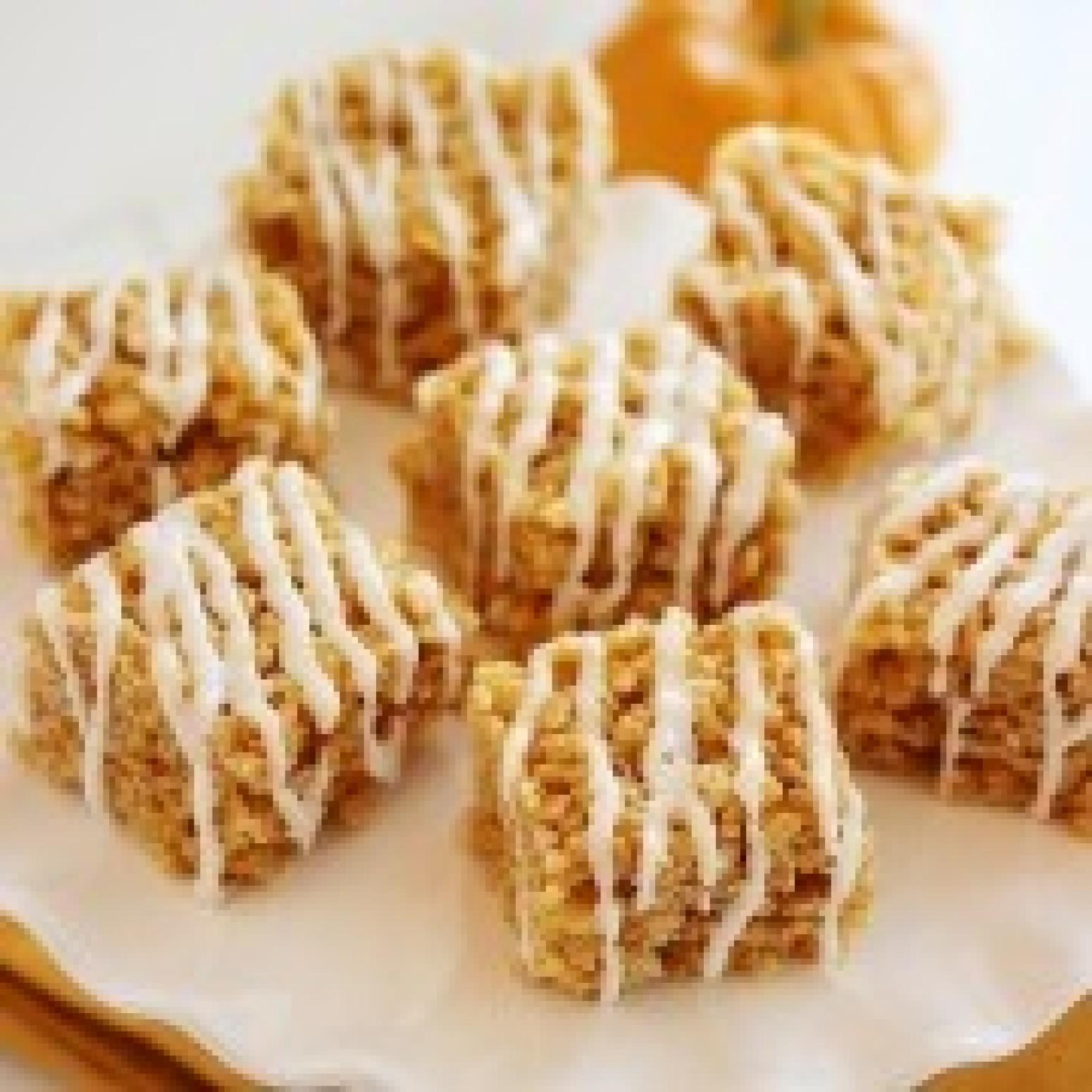 Pumpkin Spice Rice Krispie Treats Recipe 3 | Just A Pinch Recipes