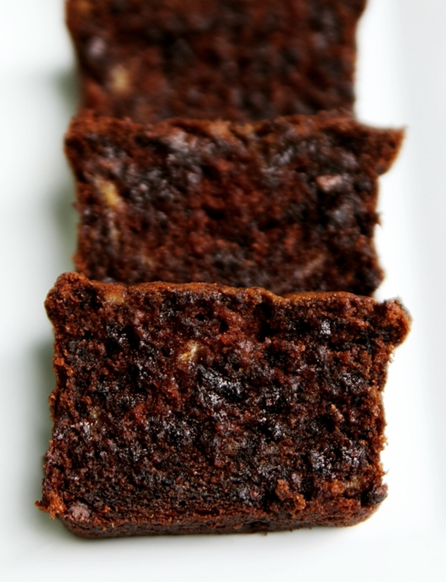 Rich and Moist: Sour Cream Chocolate Chocolate Chip Banana Bread ...