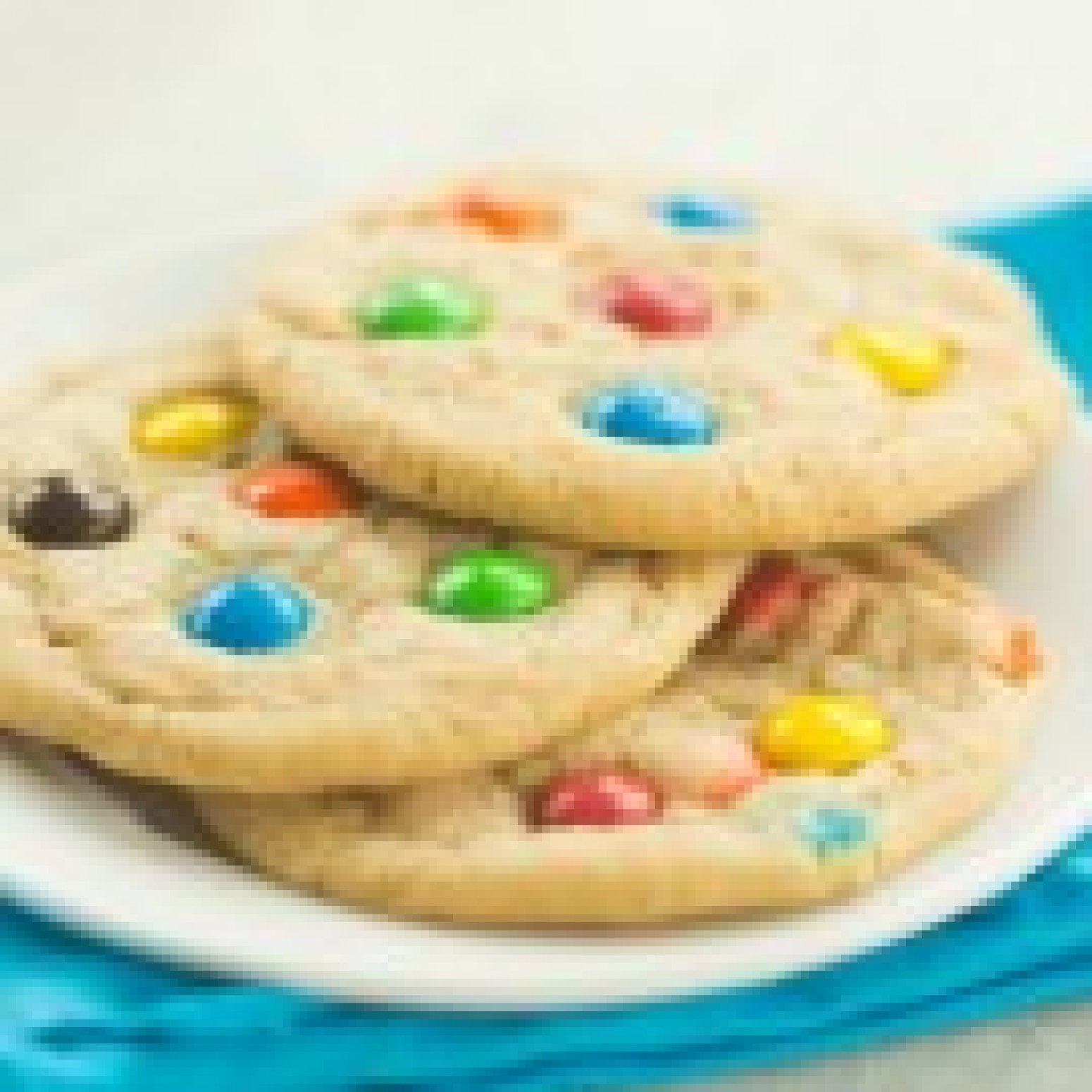 Soft and Chewy M&M Cookies Recipe 2   Just A Pinch Recipes