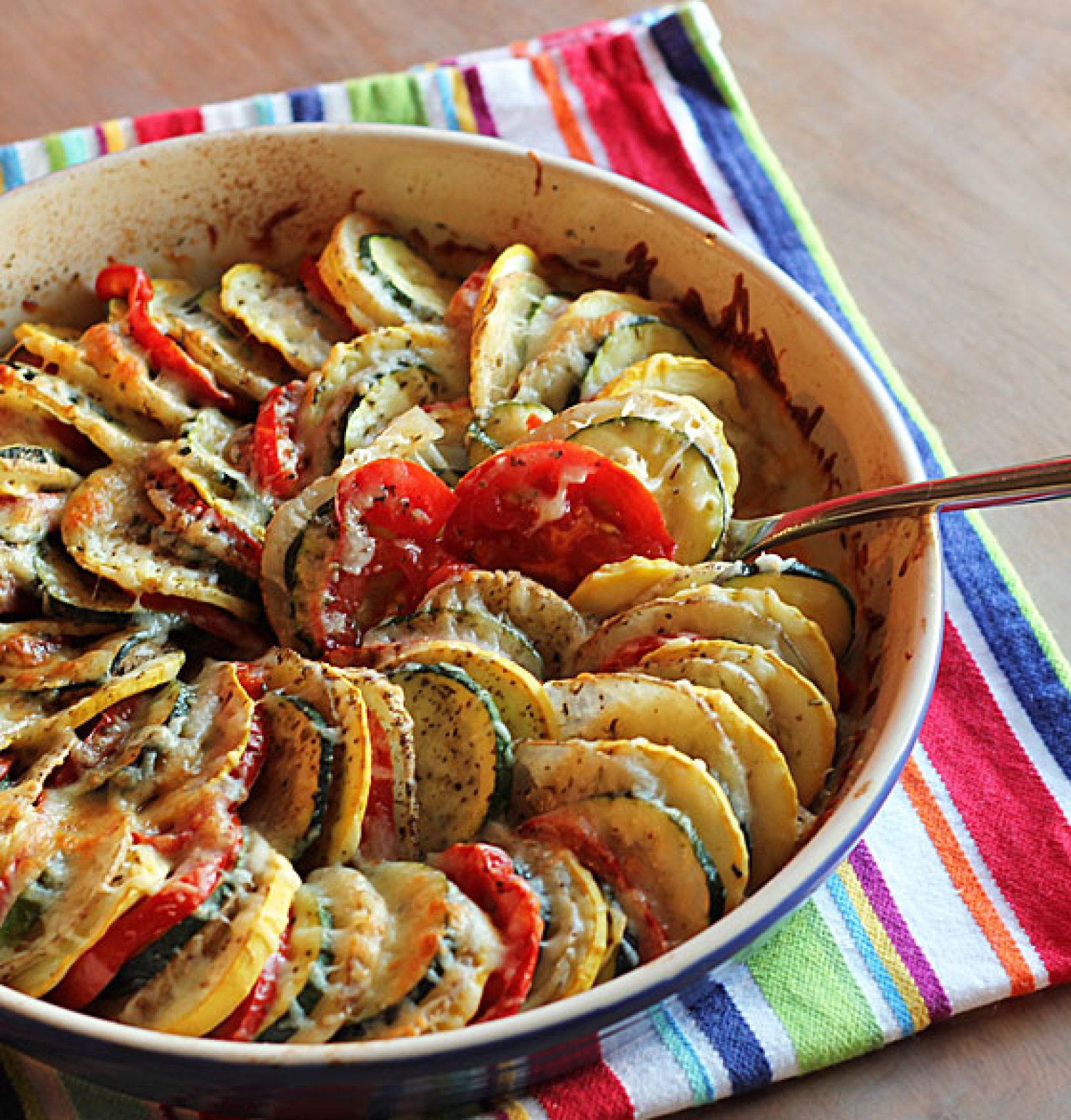 Vegetable Tian Recipe 6 | Just A Pinch Recipes