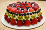Cream Cheese Pound Cake with Fresh Fruit & Whipped Cream Recipe