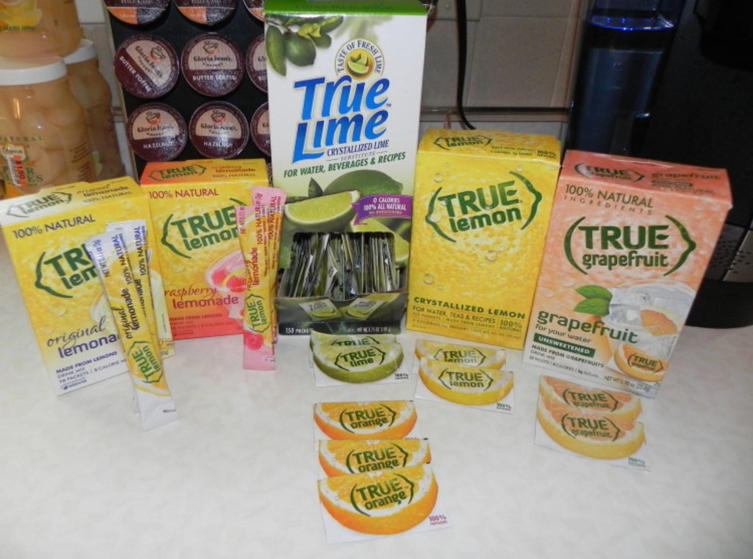 True Lemon, Lime, Orange and Grapefruit Recipe