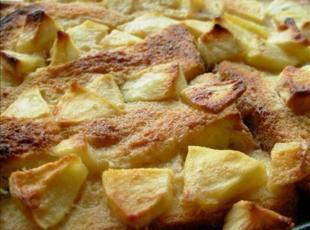 English Toffee Apple Bread and Butter Pudding Recipe