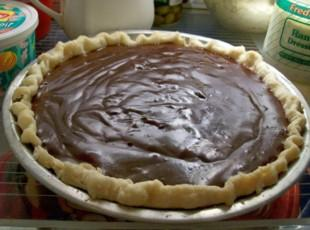 All time Favorite CHOCOLATE CREAM PIE by Freda Recipe