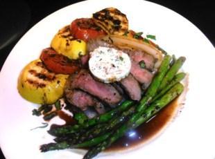 Lovin' Me Some Grilled Steak and Veggies! Recipe