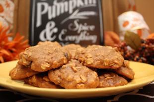 Pumpkin Oat Cookies Recipe
