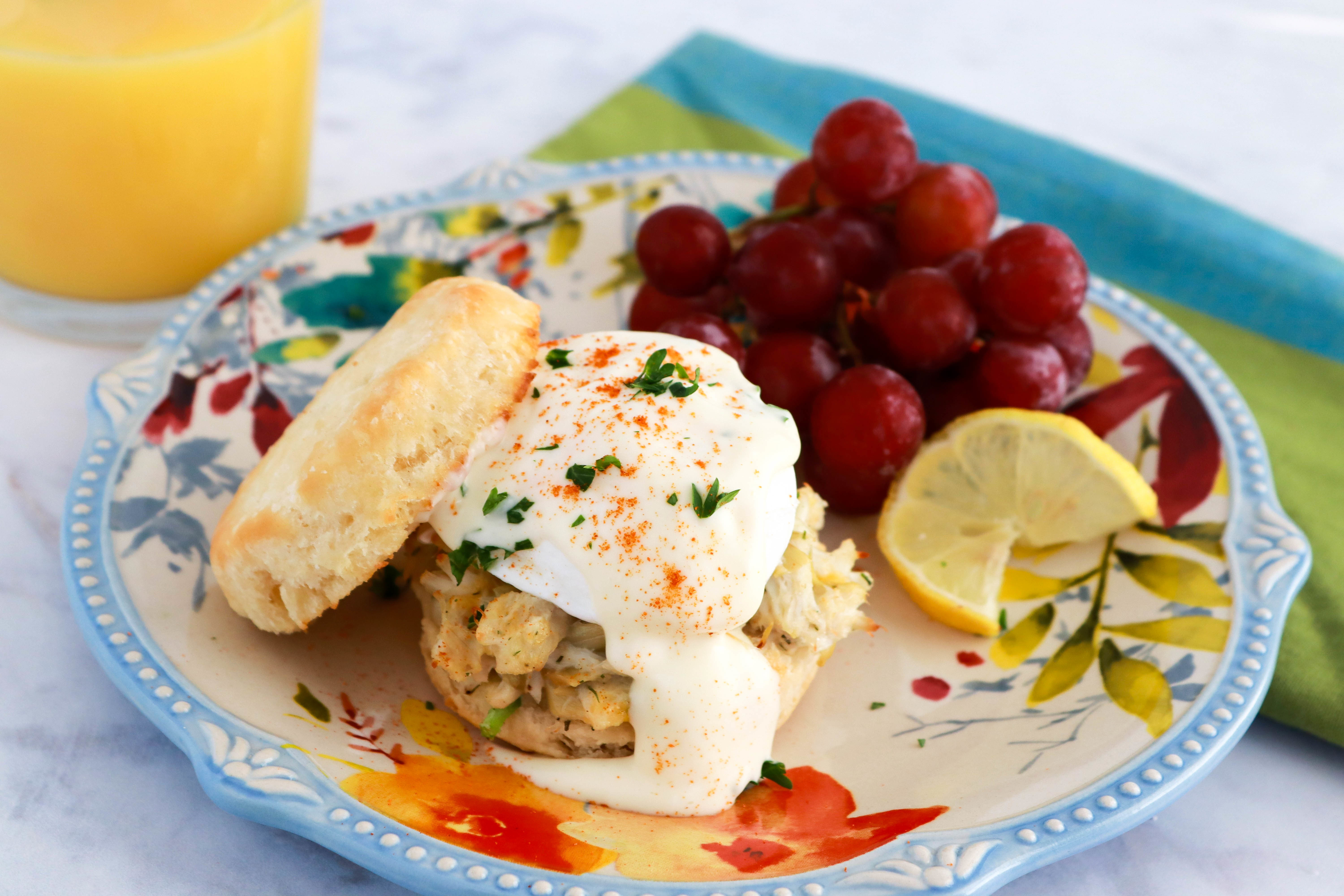 Brunch Crab Benedict