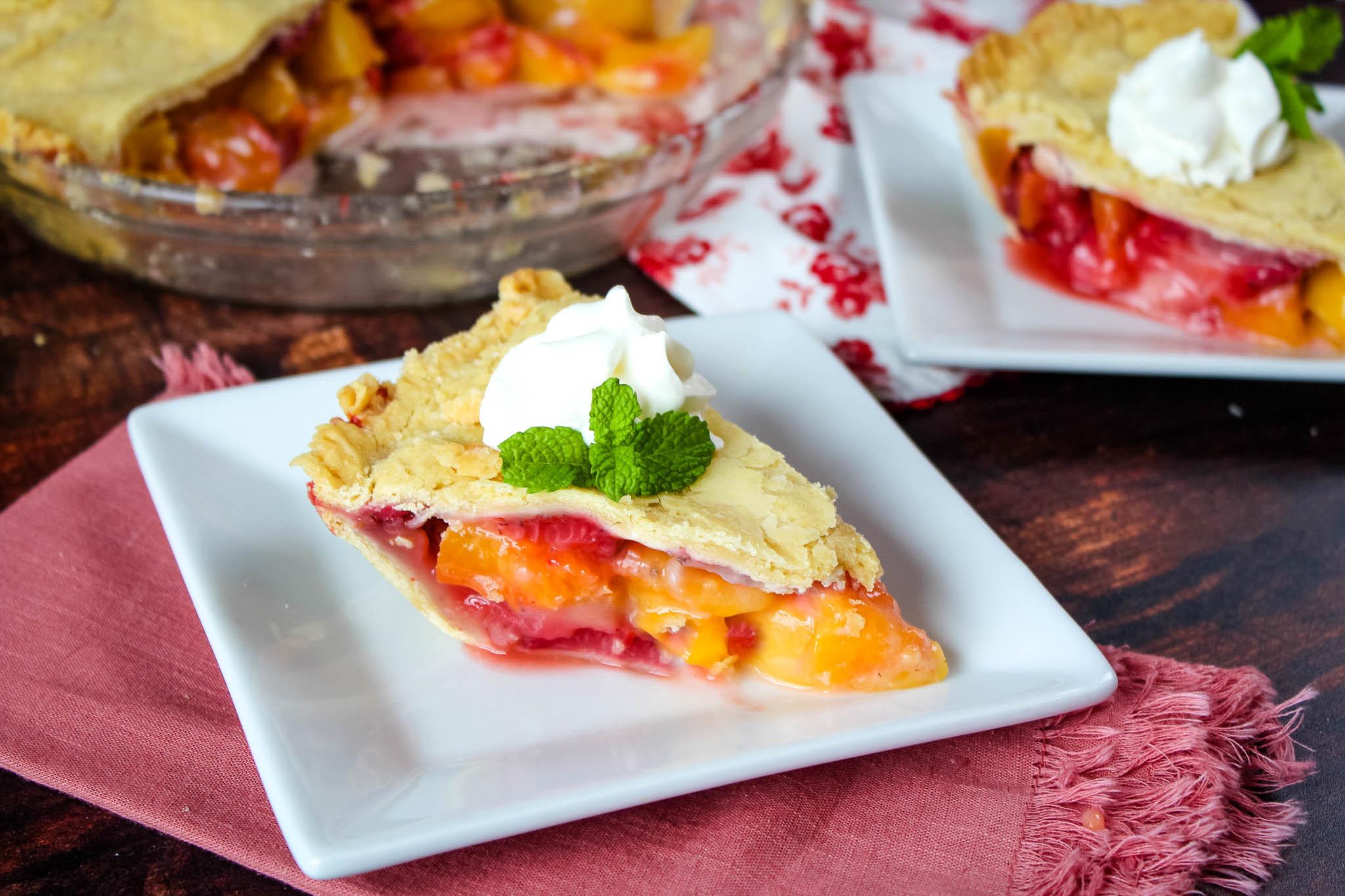 Blushing Peach Pie Recipe