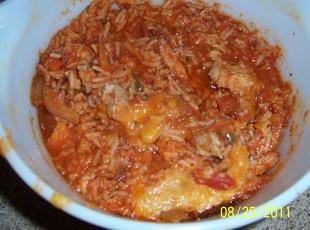 Spanish Rice & Pork Chop Bake Recipe