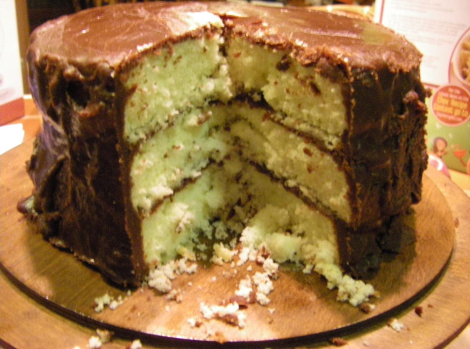 Mama S Cake Recipe Italian: Bonnie Butter Cake With Mama's Fudge Icing--Part I-Cake