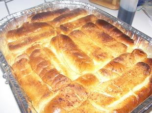 Hot Dog Bun Vanilla Bread Pudding Recipe
