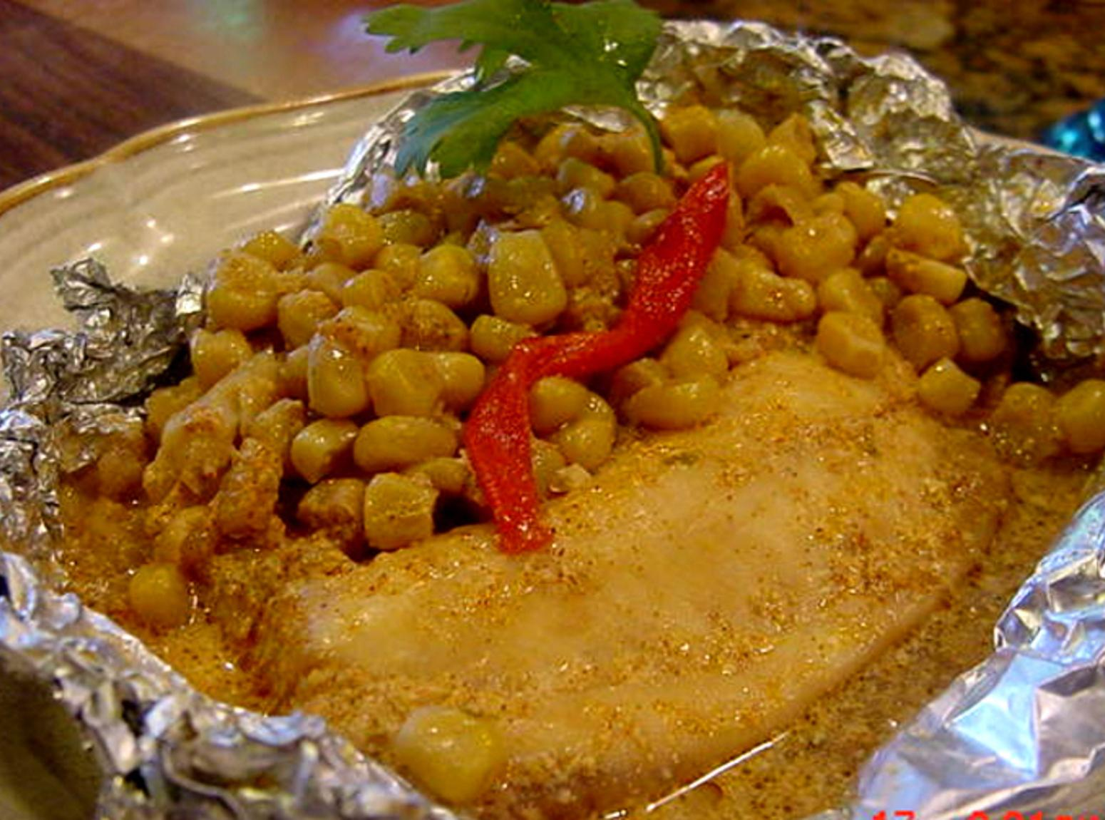 CHILI LIME TALAPIA -- BONNIE'S SLOW COOKER RECIPE