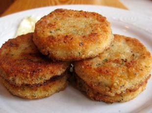 Southern Fried Grit Patties Recipe