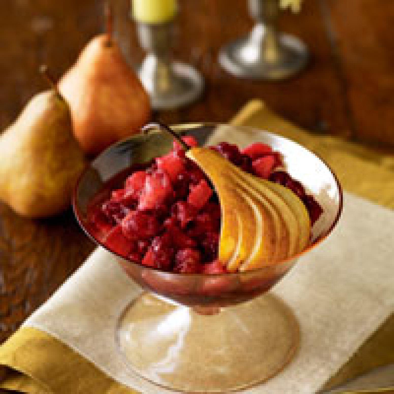 Cranberry Pear Sauce Recipe — Dishmaps