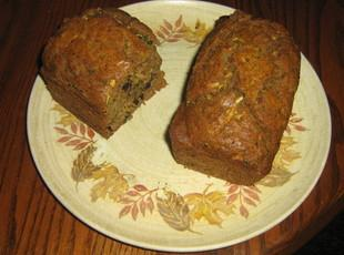 Sugar-Free Whole Wheat Zucchini Bread Recipe