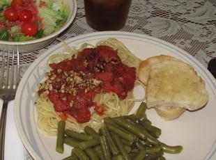 Almond Spaghetti Recipe