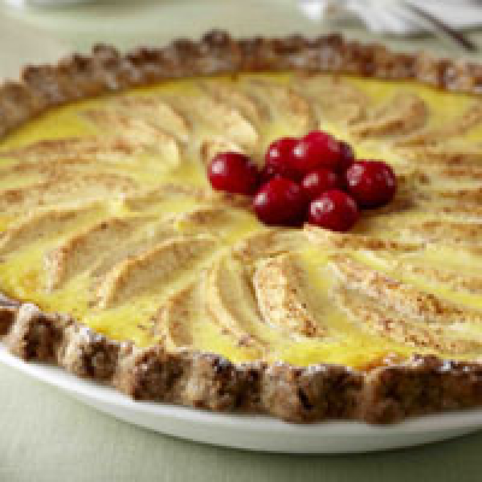 Apple Custard Pie Recipe 4 | Just A Pinch Recipes