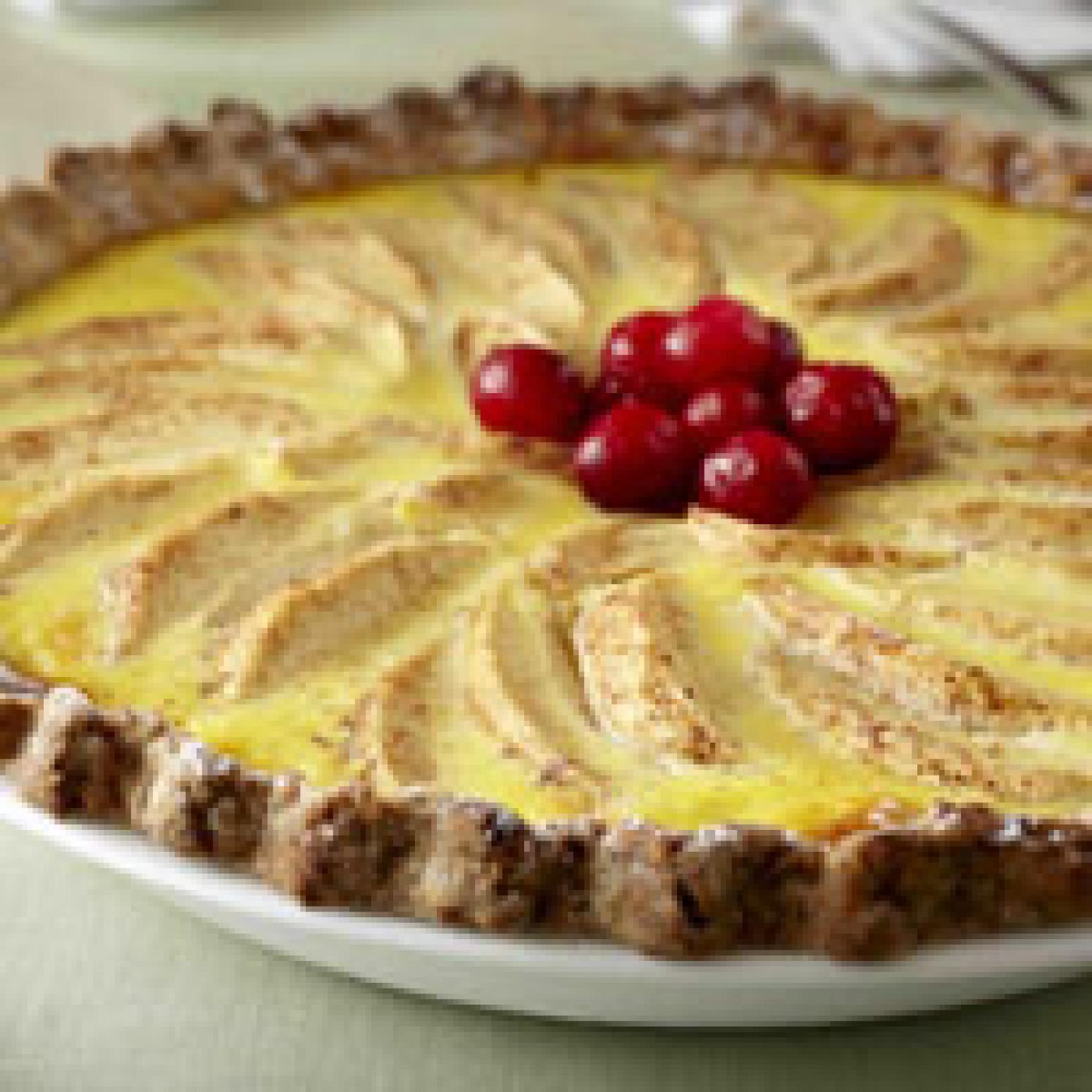Apple Custard Pie Recipe 4   Just A Pinch Recipes