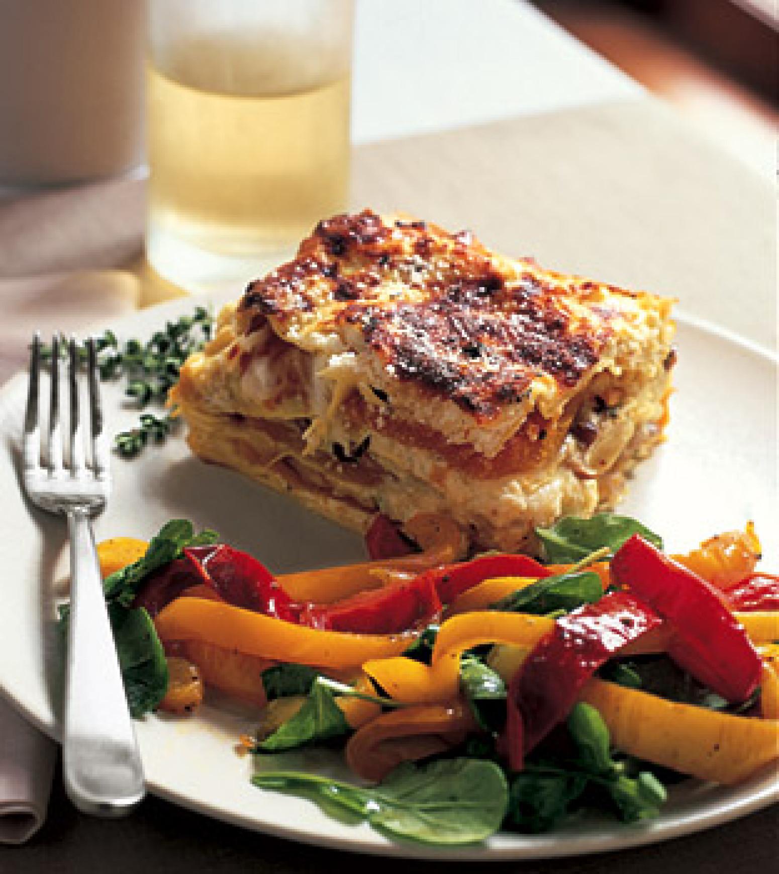 mushroom kale and sausage frittata mushroom lasagna mushroom lasagna ...