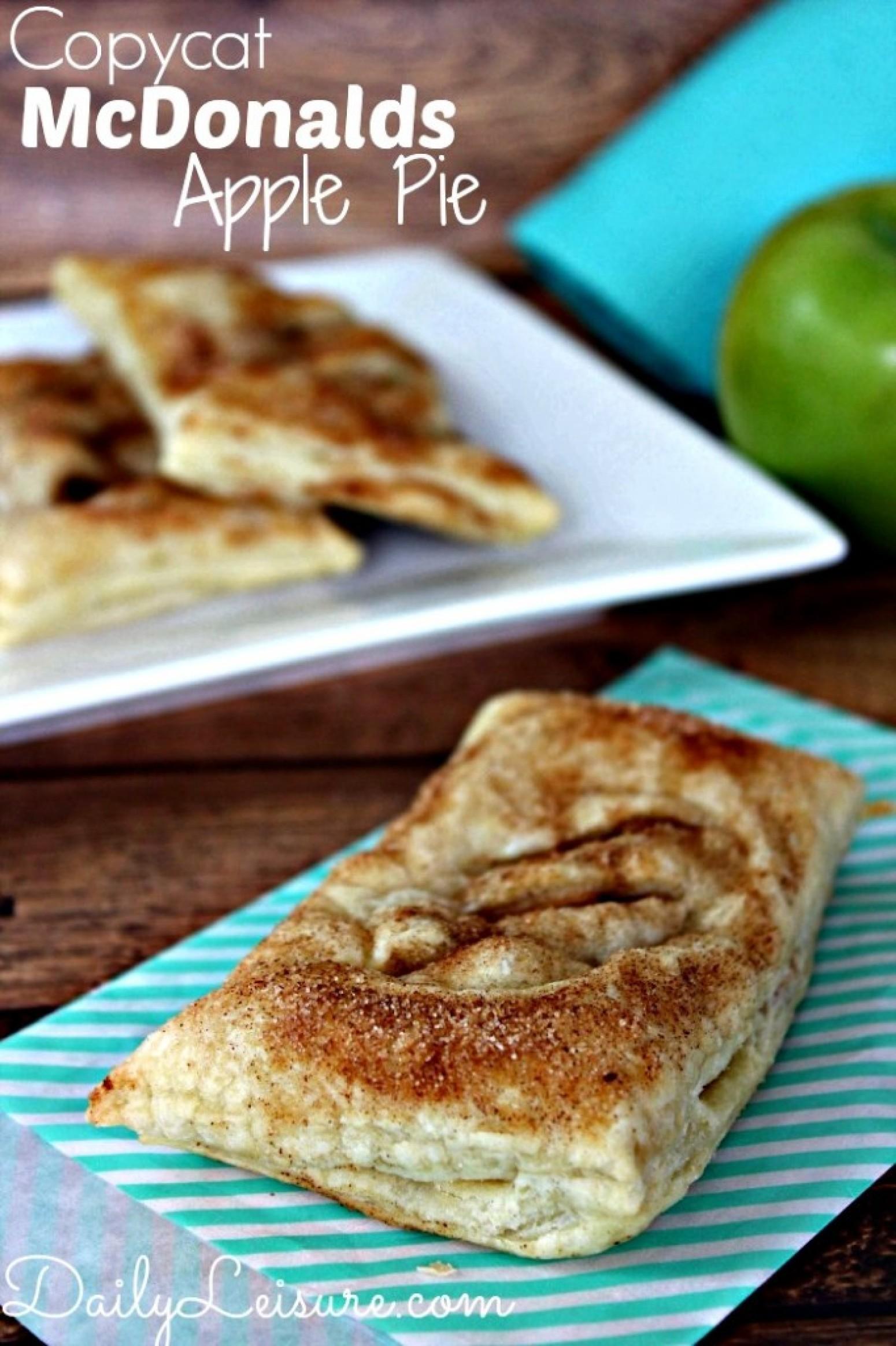Copycat McDonalds Apple Pie Recipe | Just A Pinch Recipes