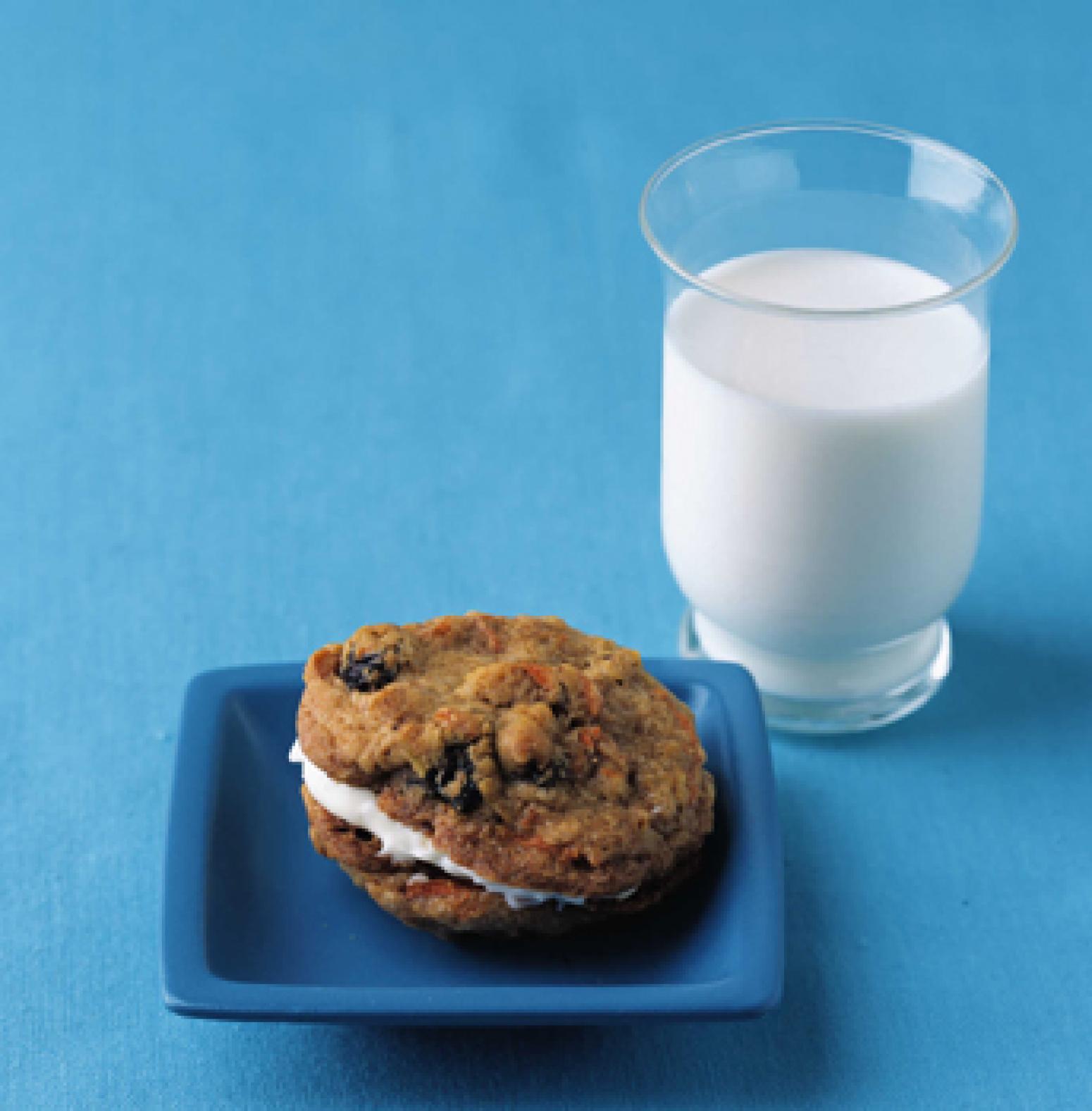 Inside-Out Carrot Cake Cookies Recipe | Epicurious.com