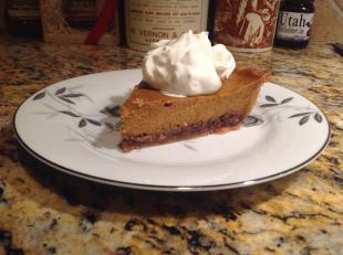 Delicious Praline Pumpkin Pie Recipe