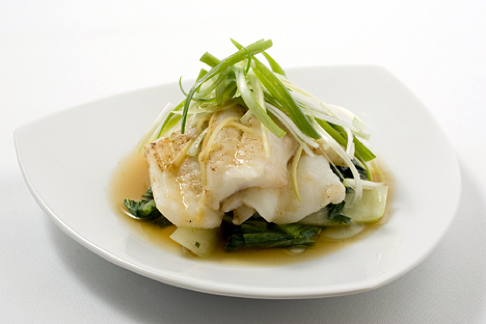 Steamed scallion ginger fish fillets with bok choy recipe for Ginger fish recipe