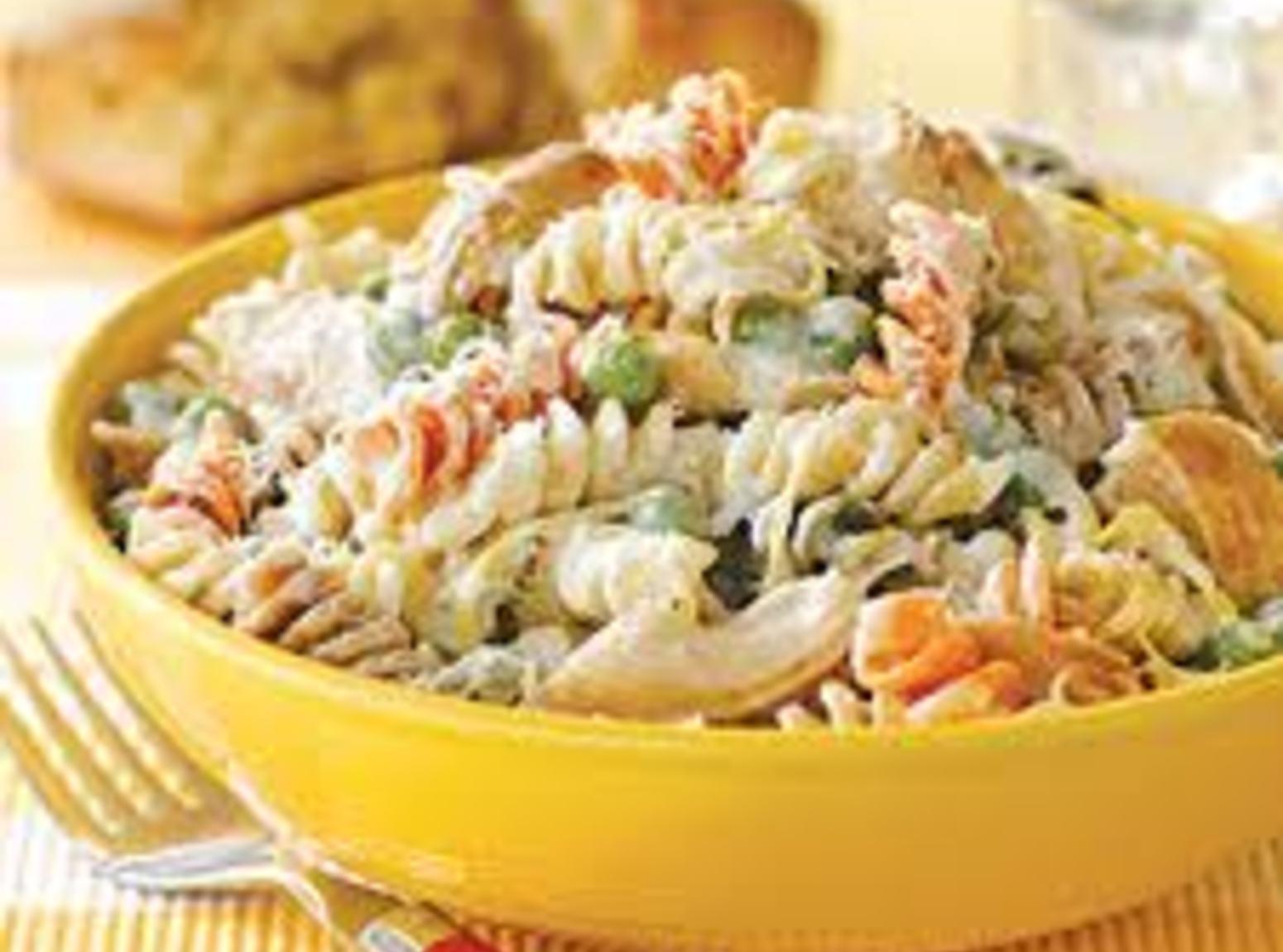 Creamy Chicken Pasta Recipe   Just A Pinch Recipes