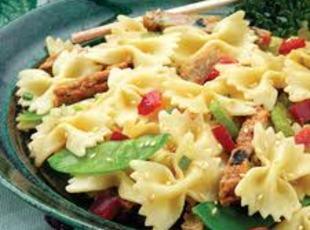 Bow Tie Pasta/w Mustard-Sesame Recipe