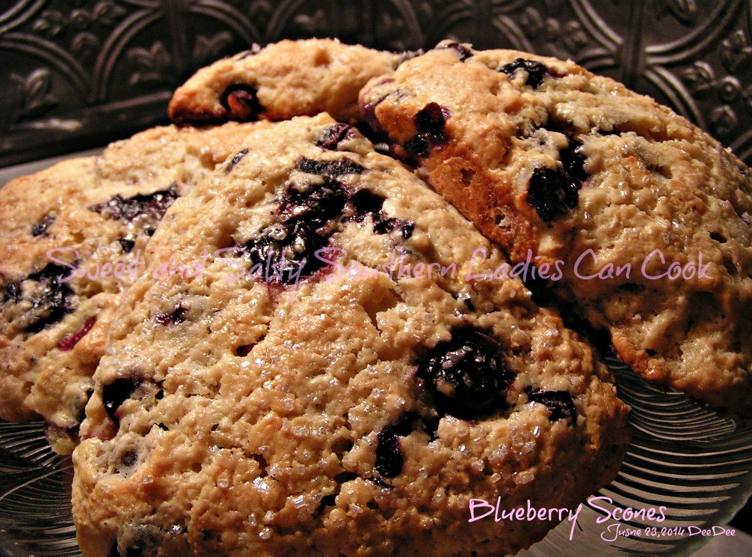 The Best Blueberry Scones Recipe | Just A Pinch Recipes