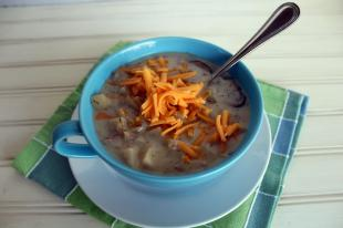 Crockpot Potato Bacon Soup