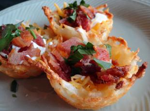 Nested Potato Skins Recipe