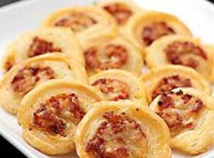 Cheese and Sauerkraut Pinwheels Recipe