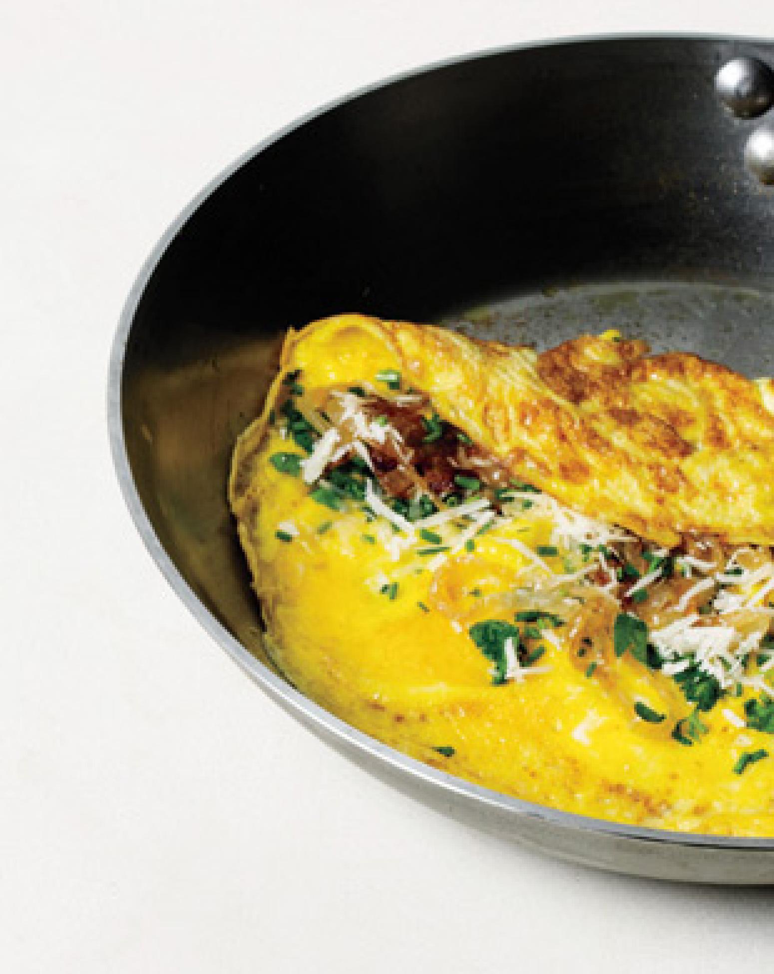 Golden-Brown Omelet Recipe | Epicurious.com