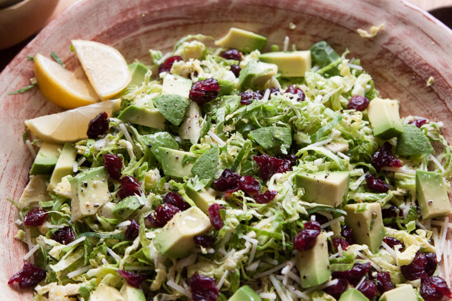 shredded brussels sprouts salad recipe dishmaps