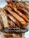 Slow Cooker Teriyaki Chicken â?? 3 Ingredients & So Easy! Recipe