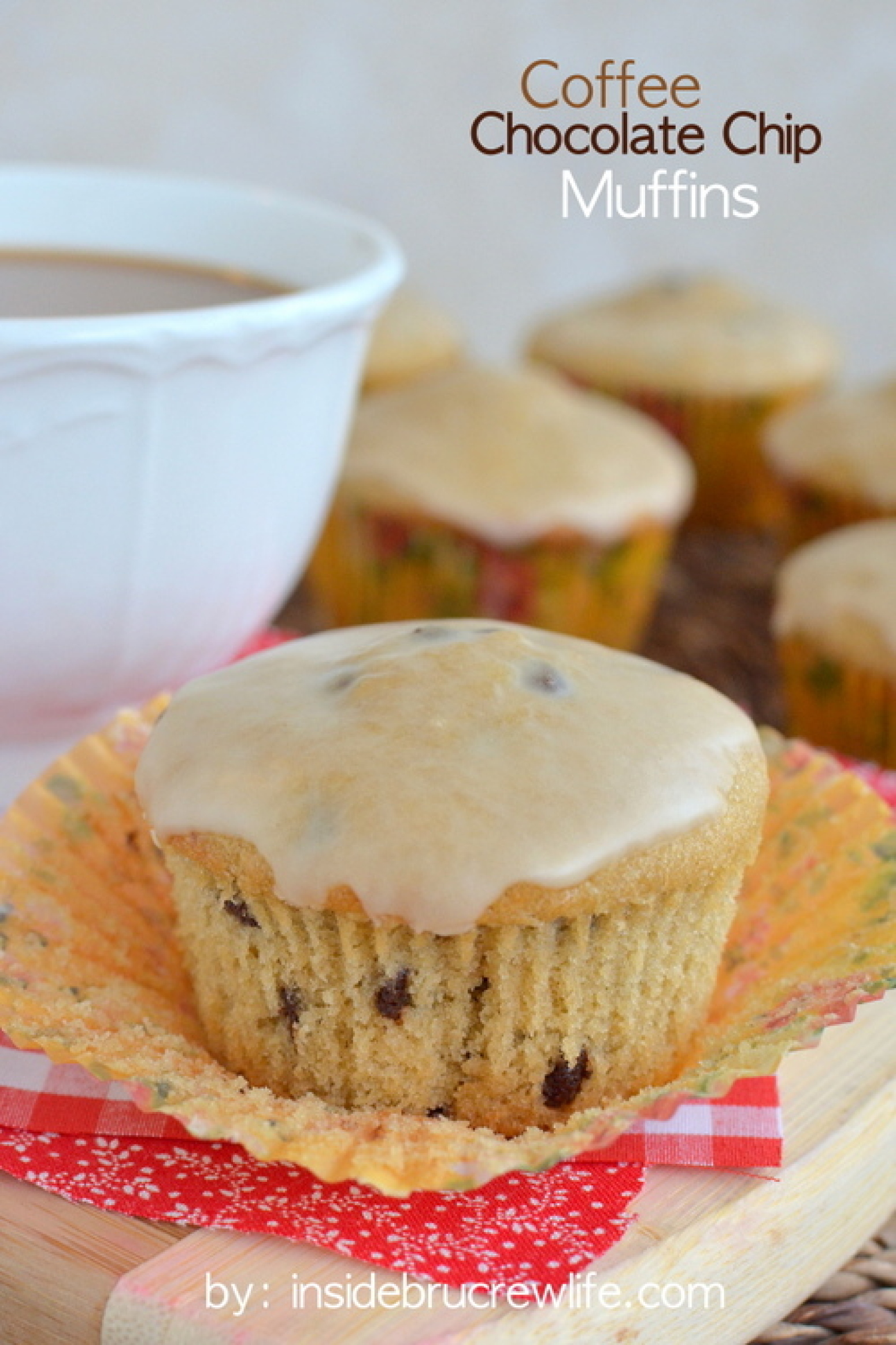 Coffee Chocolate Chip Muffins Recipe | Just A Pinch Recipes