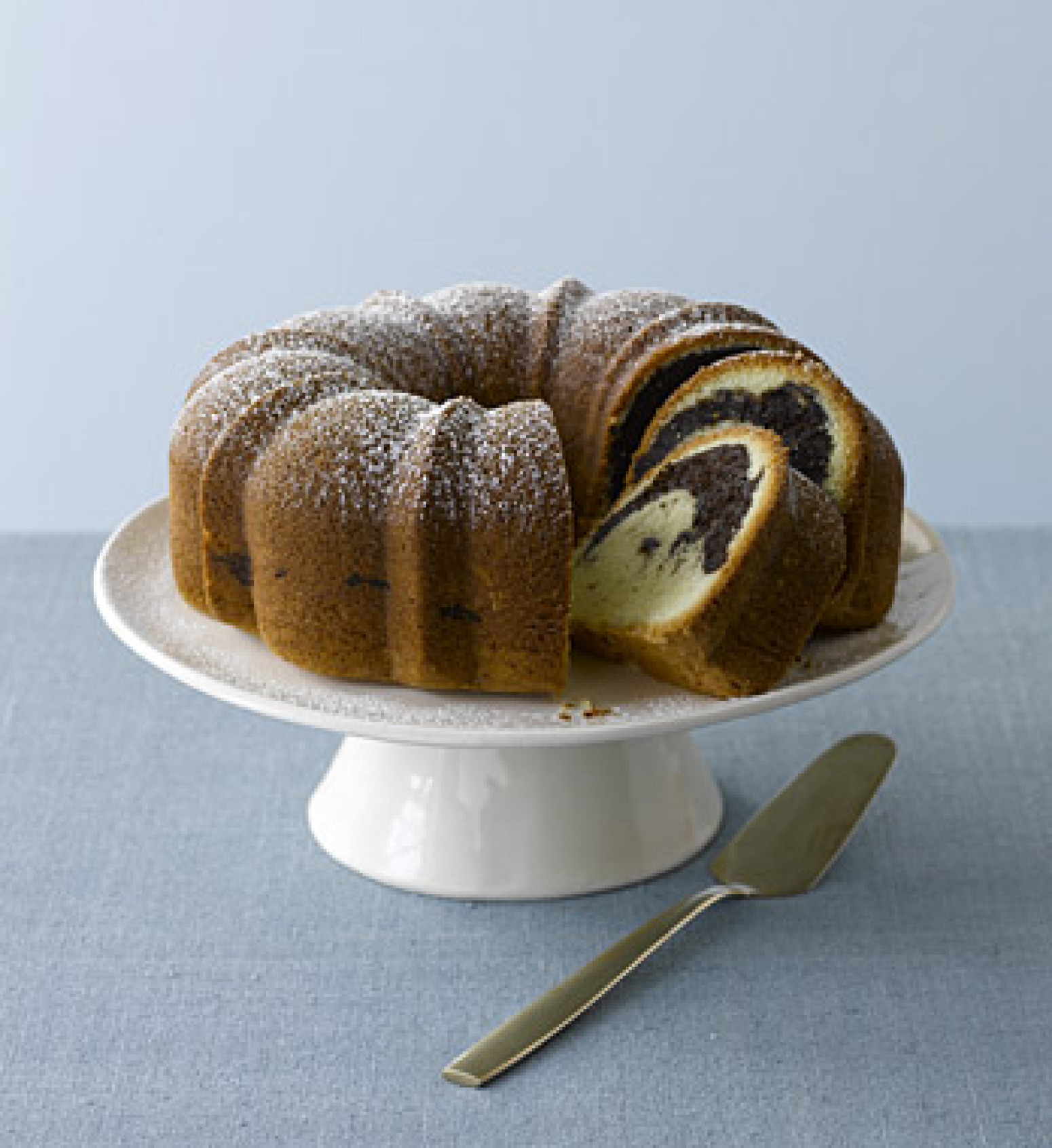Rum-Scented Marble Cake Recipe | Epicurious.com | Just A Pinch Recipes