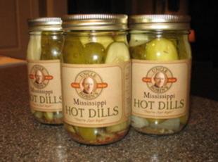 Mississippi Hot Dills Recipe