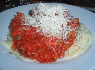 Red Meat Sauce for Pasta Recipe