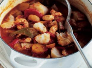 Bella's Andalusian Sea Food Stew Recipe