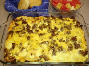 Super Easy Breakfast Casserole Recipe