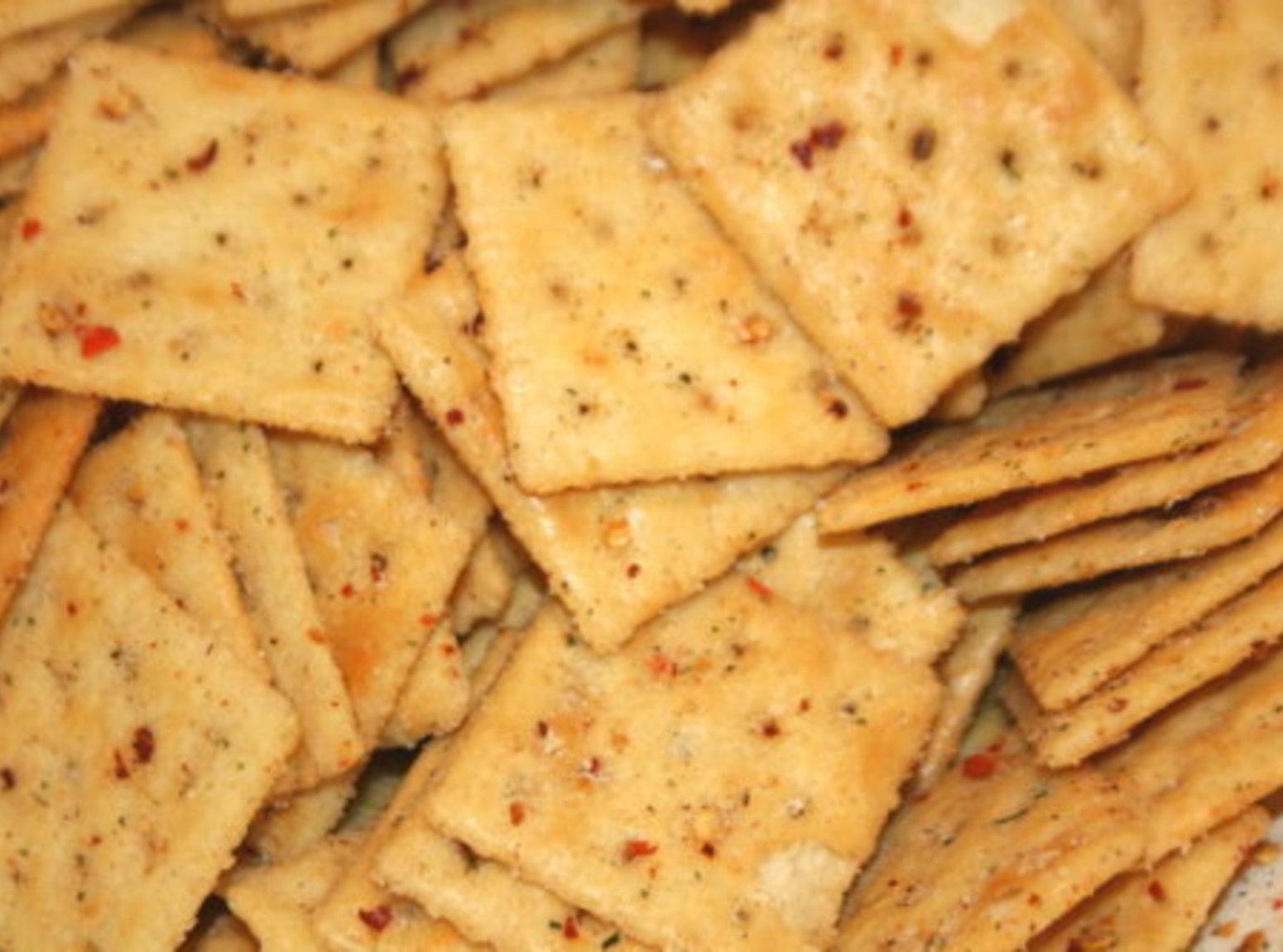 Spicy Crackers Recipe