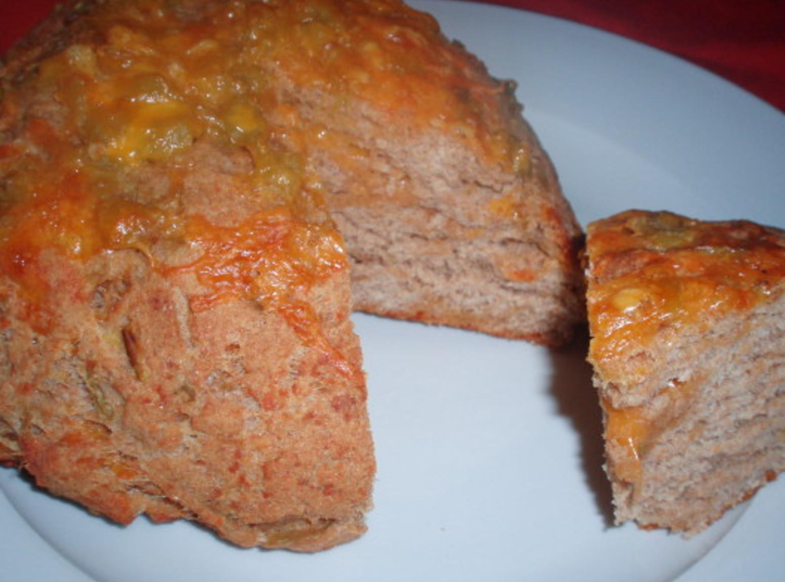 Southwestern Green Chile Cheese Bread Recipe