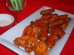 Crispy Sticky Oven Hot Wings