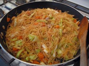 Chicken Pancit Canton Recipe