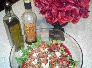 Refreshing Strawberry salad Recipe