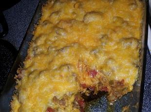 Beefy Tostada Casserole Recipe
